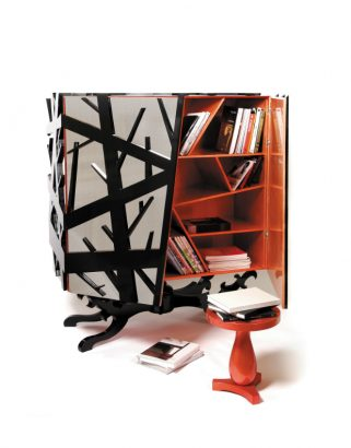 The Forest Cabinet Boca do Lobo new luxury designs inspired in Nature's dark side