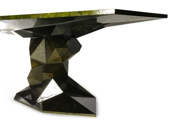Bonsai dining table new luxury designs inspired in Nature's dark side 1