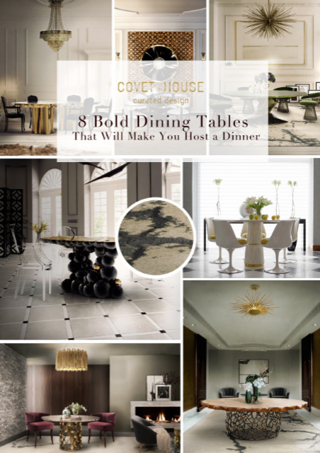 8 Bold Dining Tables That Will Make You Host a Dinner 934192fda25d963cca9c15e03e9f8a4e 1