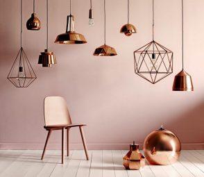 Interior Design Trends 2018: The Copper Metal Trend > Interior Design Trends > The latest news and trends in interior design > #interiordesigntrends2018 #metalcoppertrend #interiordesignblogs