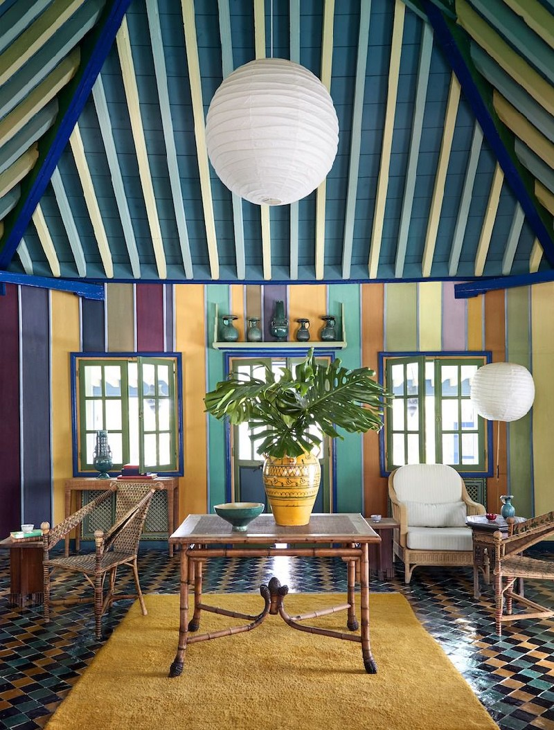 Take A Look At Yves Saint Laurent's Iconic Marrakech Home yves saint laurent Take A Look At Yves Saint Laurent's Iconic Marrakech Home Inside Yves Saint Laurents Iconic Marrakech Home 8