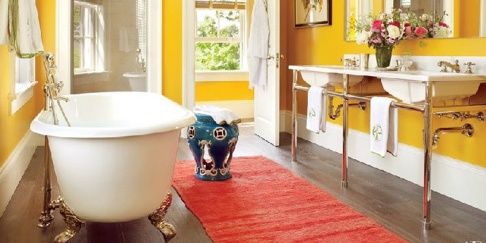 8 Colourful Bathrooms To Inspire Your Next Renovations Interior Design Blogs