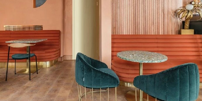 Mid-Century Modern Omar's Place: The New Mid-Century Modern Restaurant in London feat 5
