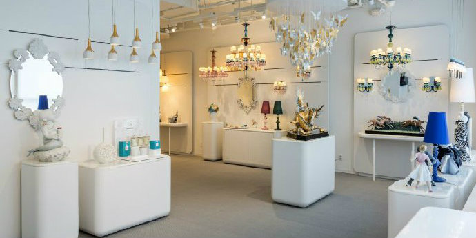porcelain showroom Lladró Will Open An Incredible Porcelain Showroom In New York feat 7