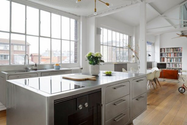 Step Inside An Industrial Style Kitchen In The Middle Of Paris Industrial Style Kitchen Step Inside An Industrial Style Kitchen In The Middle Of Paris Step Inside An Industrial Style Kitchen In The Middle Of Paris 1