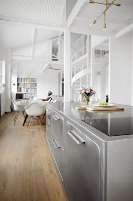 Step Inside An Industrial Style Kitchen In The Middle Of Paris Industrial Style Kitchen Step Inside An Industrial Style Kitchen In The Middle Of Paris Step Inside An Industrial Style Kitchen In The Middle Of Paris 4