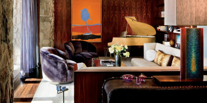 Luxury Living Room Take a Look At Some Celebrities' Best Luxury Living Room Designs feat 12