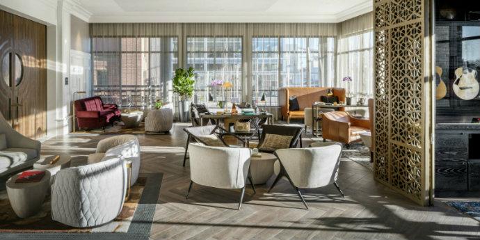 Interior Design Step Inside The Exquisite Interior Design Of The Elizabeth Hotel feat 4