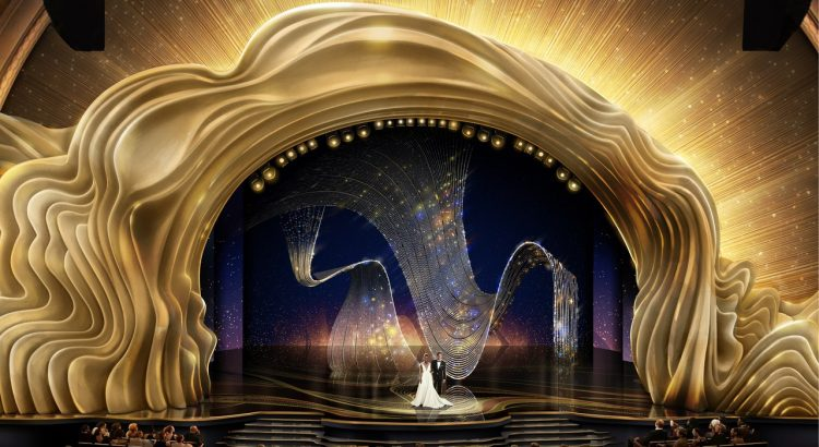Wonder At The 2019 Oscars Set Design oscars 2019 stage design Wonder At The 2019 Oscars Set Design 08 OSCR91 CrystalSwag 122418JA 750x410