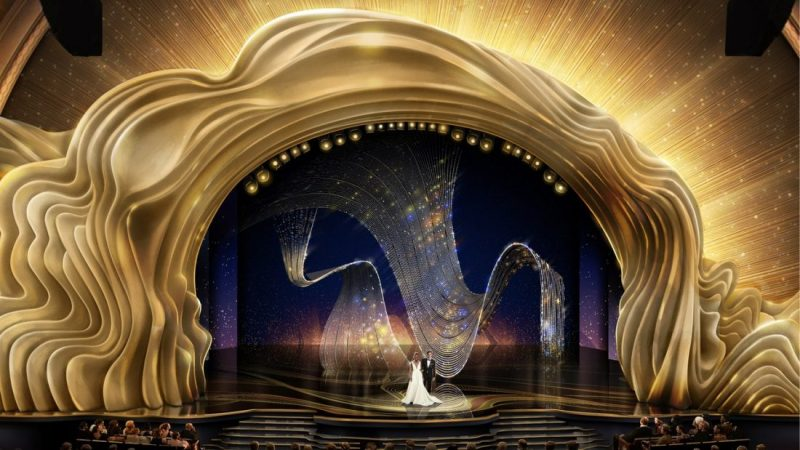 Wonder At The 2019 Oscars Set Design oscars 2019 stage design Wonder At The 2019 Oscars Set Design 08 OSCR91 CrystalSwag 122418JA e1551091559289