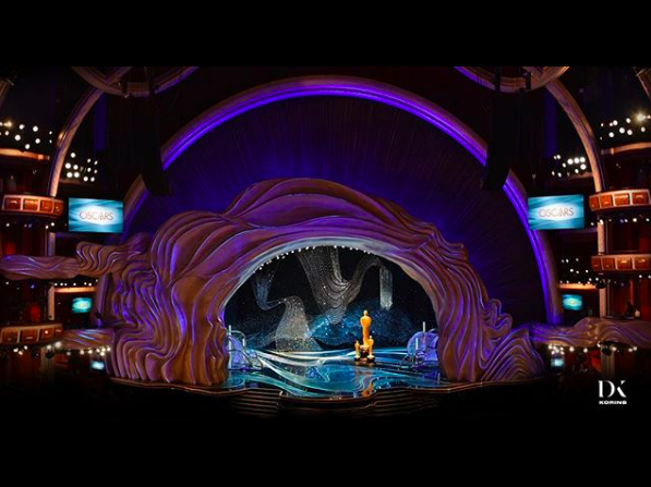 Wonder At The 2019 Oscars Set Design oscars 2019 stage design Wonder At The 2019 Oscars Set Design Captura de ecra   2019 02 25 a  s 10