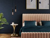 Luxurious Bed Choices by Top Interior Designers luxurious bedrooms Luxurious Bed Choices by Top Interior Designers Essential Home Presents Sophia The Velvet Charm 5 172x129