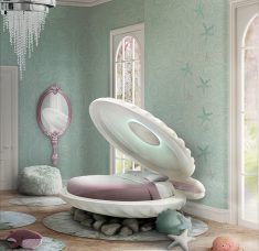 5 Essentials For A Magical Kid's Bedroom [object object] 5 Essentials For A Magical Kid's Bedroom mermaid bed circu magical furniture 1 235x228