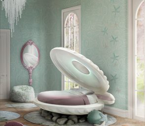 5 Essentials For A Magical Kid's Bedroom [object object] 5 Essentials For A Magical Kid's Bedroom mermaid bed circu magical furniture 1 294x255