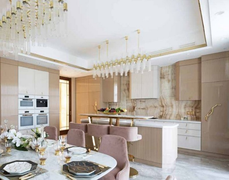 Luxury Design: A Kitchen Gets An Incredible Pink and Gold Makeover luxury design Luxury Design: A Kitchen Gets An Incredible Pink and Gold Makeover Luxury Design A Kitchen Gets An Incredible Pink and Gold Makeover 1