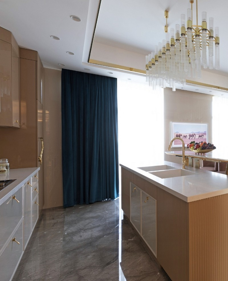 Luxury Design A Kitchen Gets An Incredible Pink and Gold Makeover luxury design Luxury Design: A Kitchen Gets An Incredible Pink and Gold Makeover Luxury Design A Kitchen Gets An Incredible Pink and Gold Makeover 5