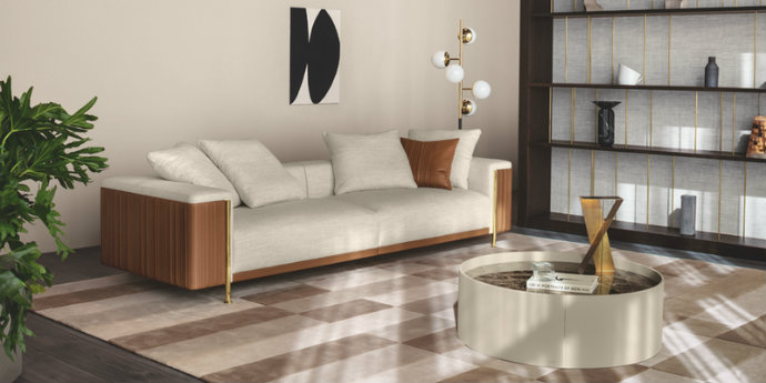 trussardi casa Trussardi Casa Has A New Living Room Collection feat 10