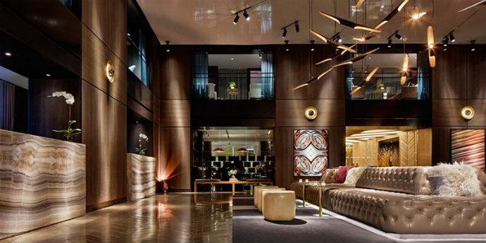 mid-century modern Mid-Century Modern Has Taken Over The Paramount Hotel New York feat 3