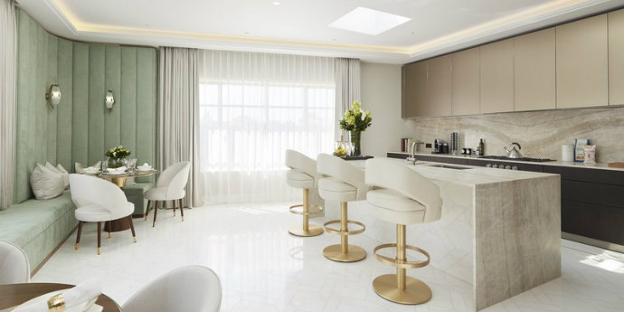 art deco Art Deco Project With A Contemporary Twist In London feat 5