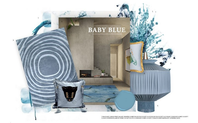 Interior Design Trends Baby Blue Is The Colour of Summer 2019 interior design trends Interior Design Trends: Baby Blue Is The Colour of Summer 2019 Interior Design Trends Baby Blue Is The Colour of Summer 2019 1
