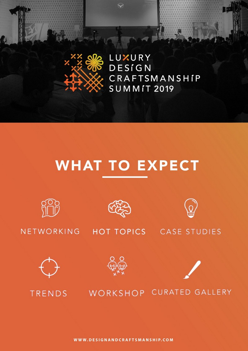 Luxury Design & Craftsmanship Summit 2019 Is Almost Here! luxury design Luxury Design & Craftsmanship Summit 2019 Is Almost Here! Celebrate Arts and Crafts With The Luxury Design Craftsmanship Summit 2019 2