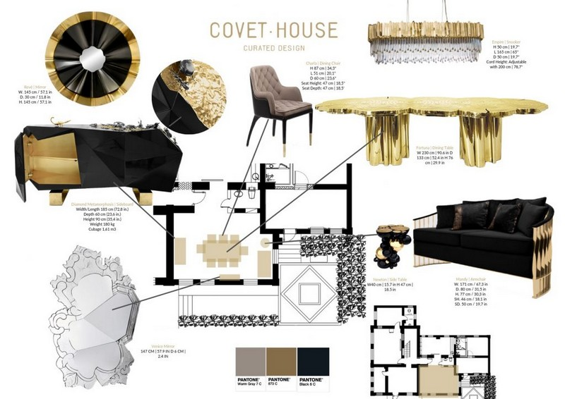 Home Decor: Discover The Luxury Design of Black and Gold home decor Home Decor: Discover The Luxury Design of Black and Gold Home Decor Ideas Be Inspired by Black and Gold 1